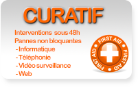 Contrat de maintenance informatique Curatif